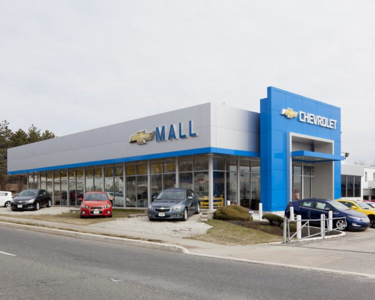 Mall Chevrolet Dealership Renovation | The Bannett Group