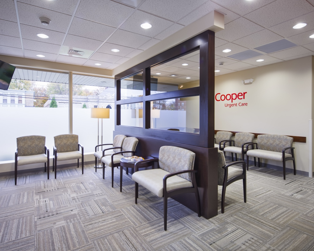 Medical office construction cooper urgent care the for Interior design 08003