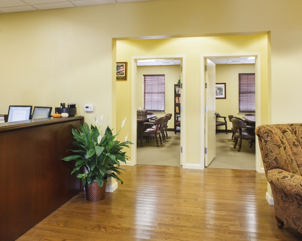 Rothkoff law office lobby cherry hill nj the bannett for Interior design 08003