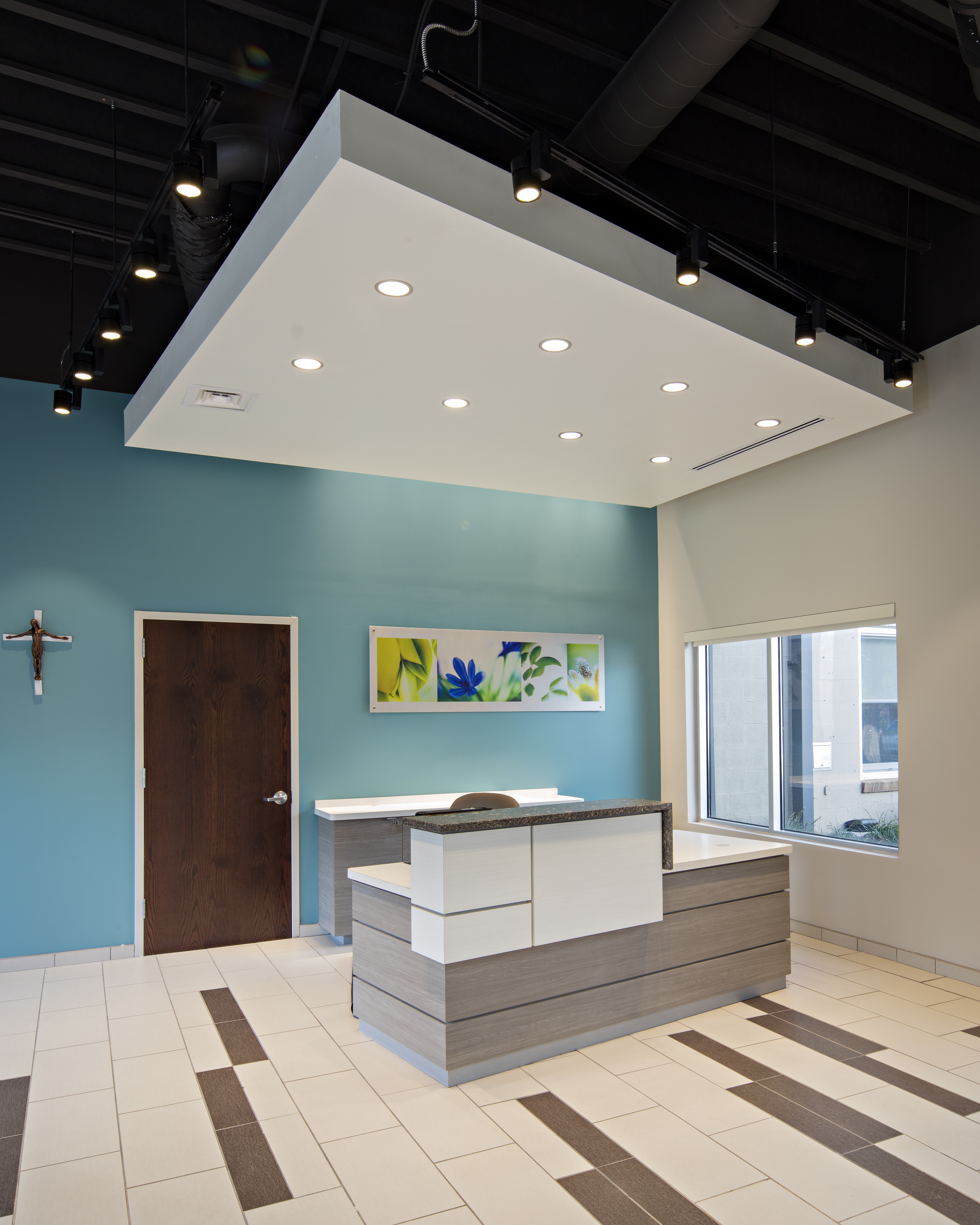 interior office renovation Holy Redeemer Health Care Elizabeth, NJ