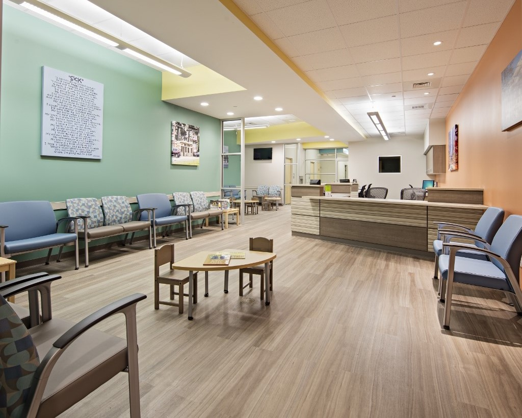 medical office interior renovation